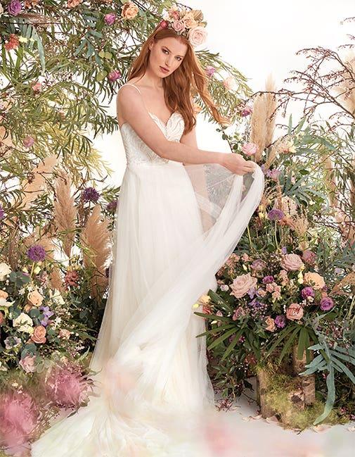 Oslo by Heidi Hudson, the perfect wedding dress for a Spring wedding