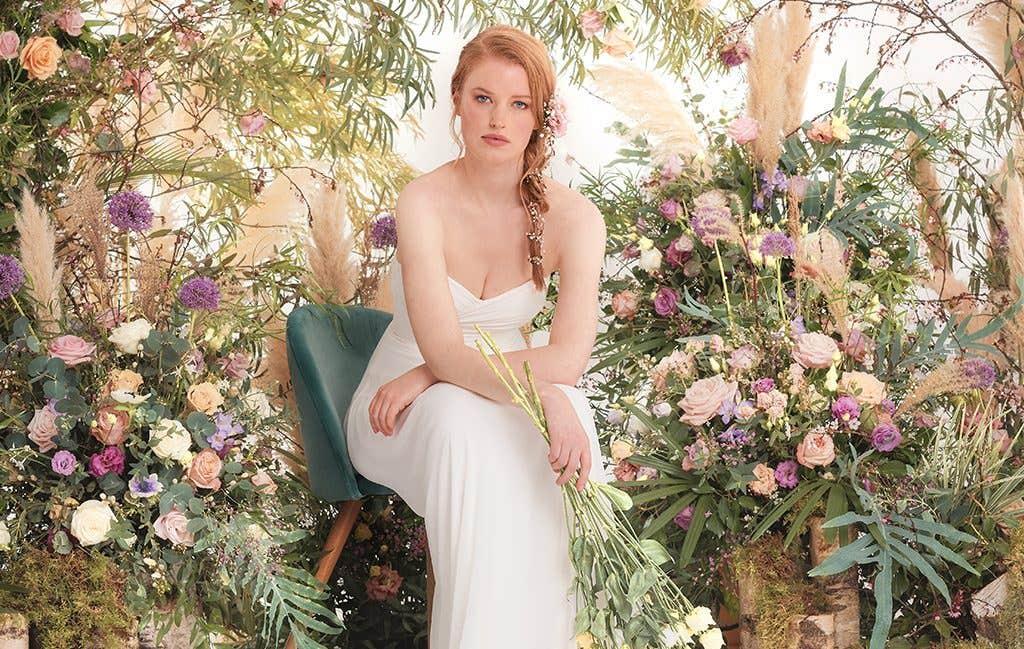 Sara by Heidi Hudson, the perfect wedding dress for a Spring wedding