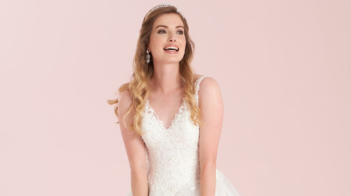 Can you have a designer wedding dress without a luxury budget?