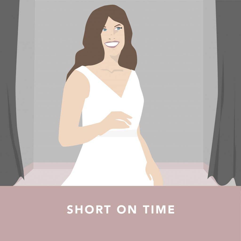 Last minute wedding dresses