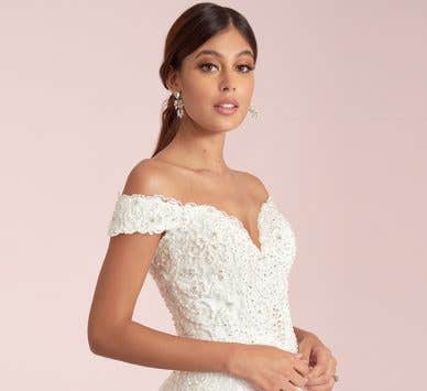 What lace wedding dress personality are you?