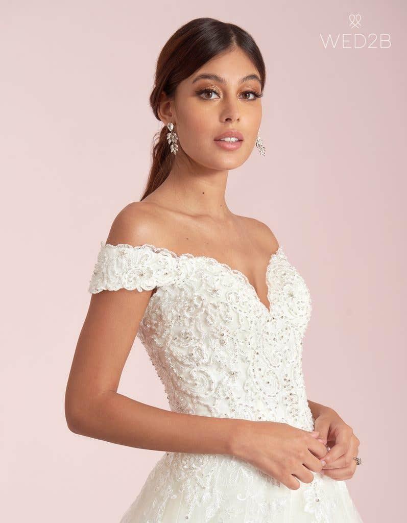 ballgown wedding dress from WED2B