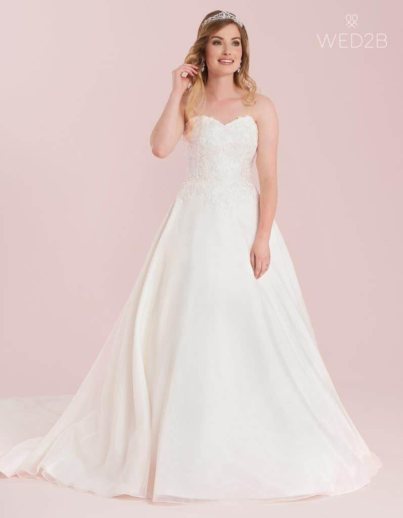 A-line wedding dress from WED2B