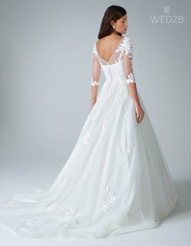 A line wedding dresses from WED2B