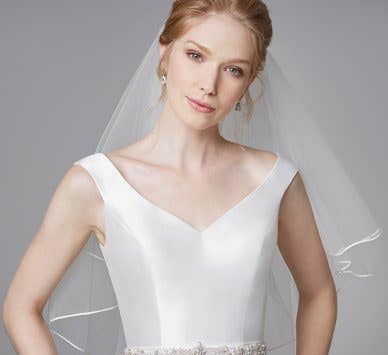 Why not try something a little different with a tea length wedding dress?