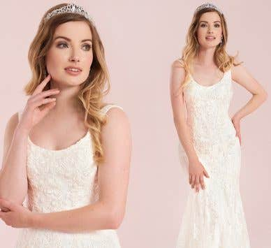 Discover the benefits of a fishtail wedding dress…