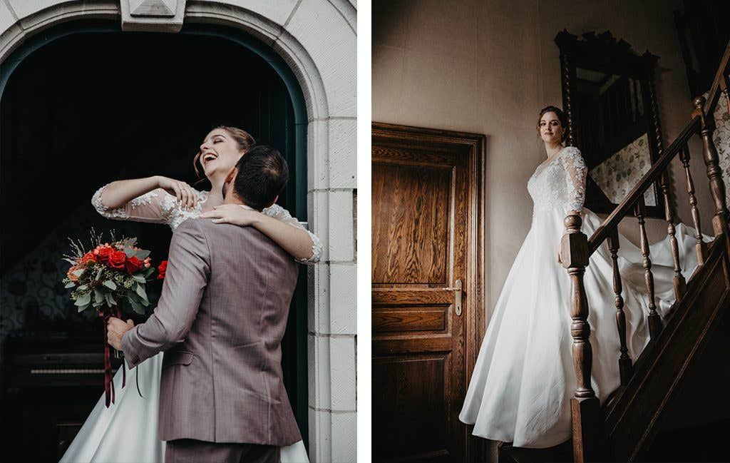 Princess wedding dress from WED2B