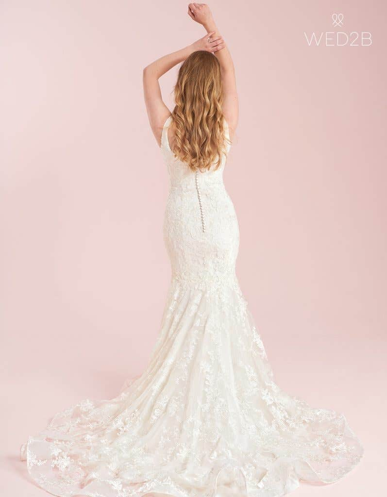 Mermaid wedding dress from WED2B