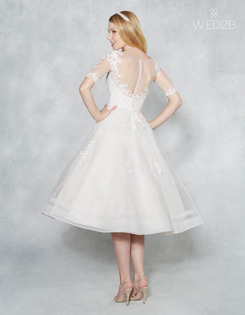 retro wedding dress