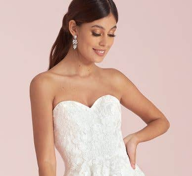 Find Your Dream Embroidered Wedding Dress