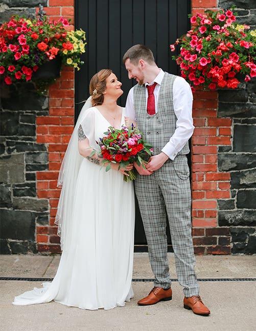 Stylish Small Wedding