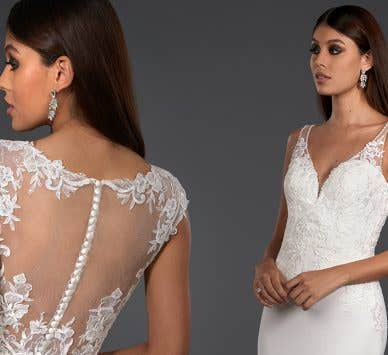 The Signature Collection: Stand out in a striking wedding gown