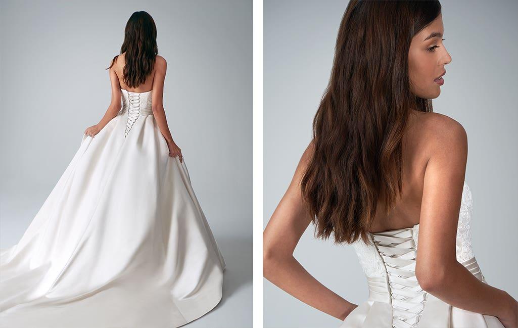 Helene a wedding colour guide dress by Anna Sorrano
