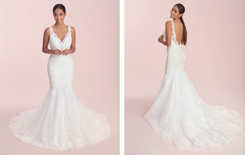 Catia a wedding colour guide dress by Viva Bride