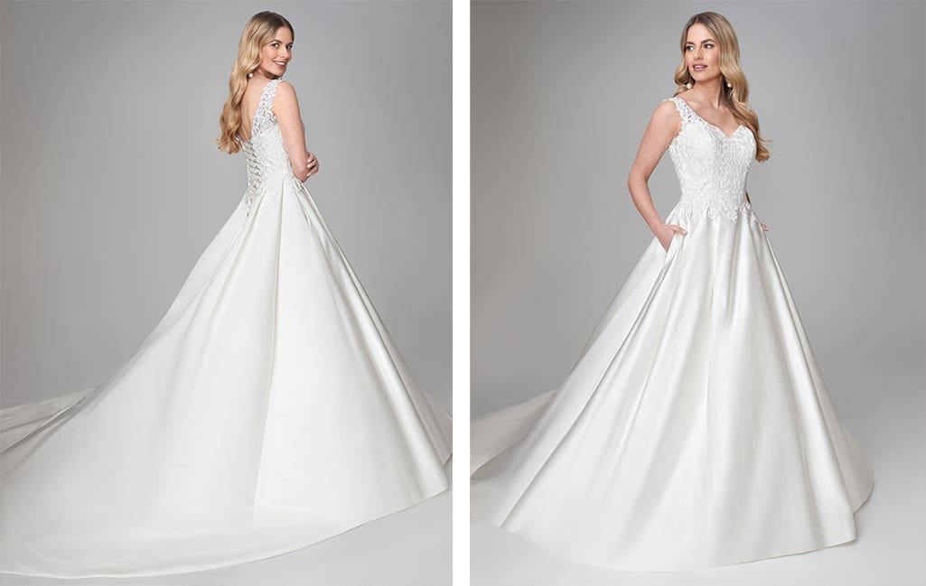 Katryn a wedding colour guide dress by Anna Sorrano
