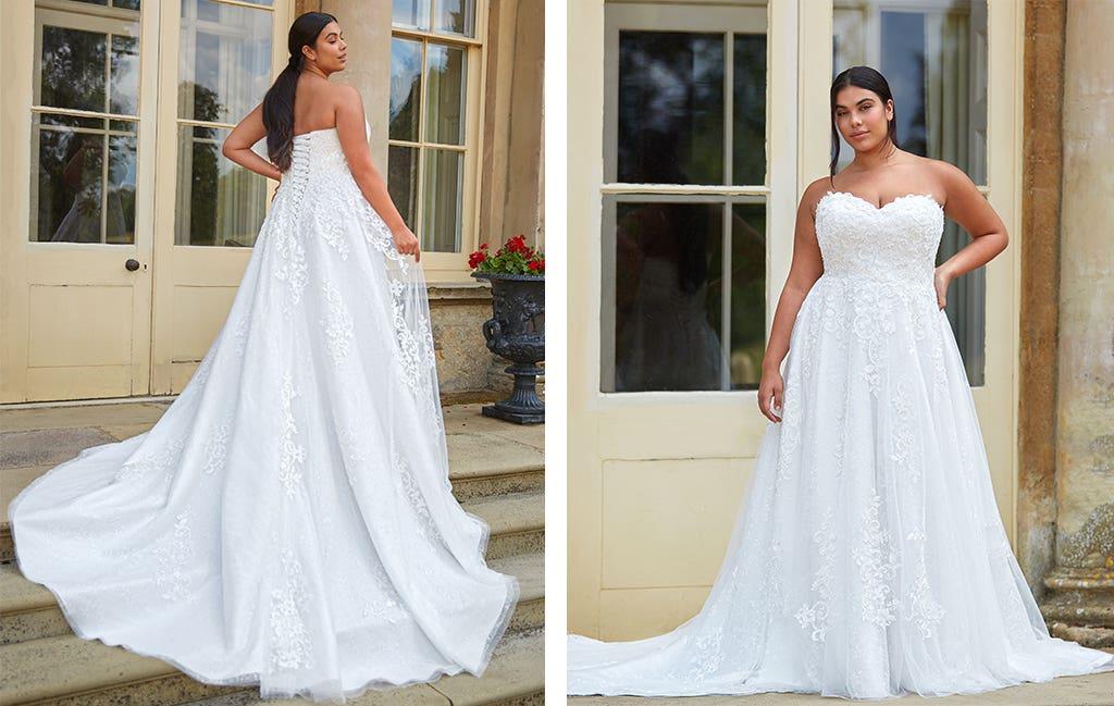 April wedding dress by Anna Sorrano